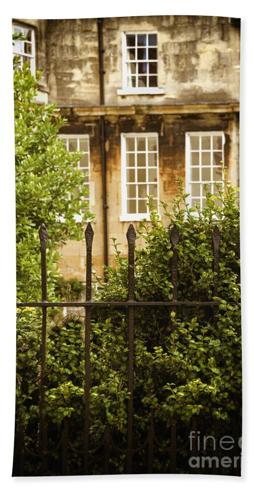 House Hand Towel featuring the photograph Outside Looking In by Margie Hurwich