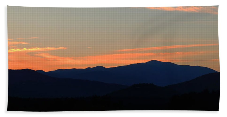 Led Bath Sheet featuring the photograph Over The Hills And Far Away by Mike Greco