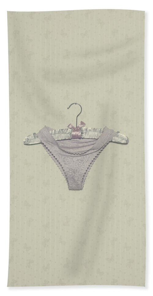 Clothes Hanger Hand Towel featuring the photograph Panties by Joana Kruse