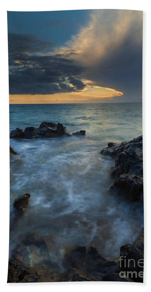 Paradise Bath Sheet featuring the photograph Paradise Cloud Explosion by Mike Dawson