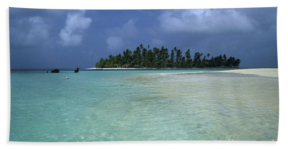 Panama Hand Towel featuring the photograph Paradise Island 1 by James Brunker
