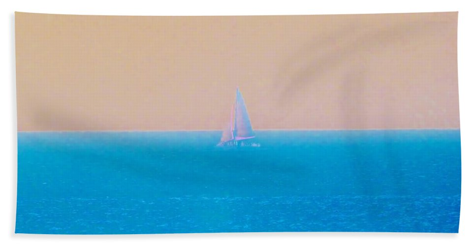 Color Bath Sheet featuring the photograph Pastel Trip by Amar Sheow