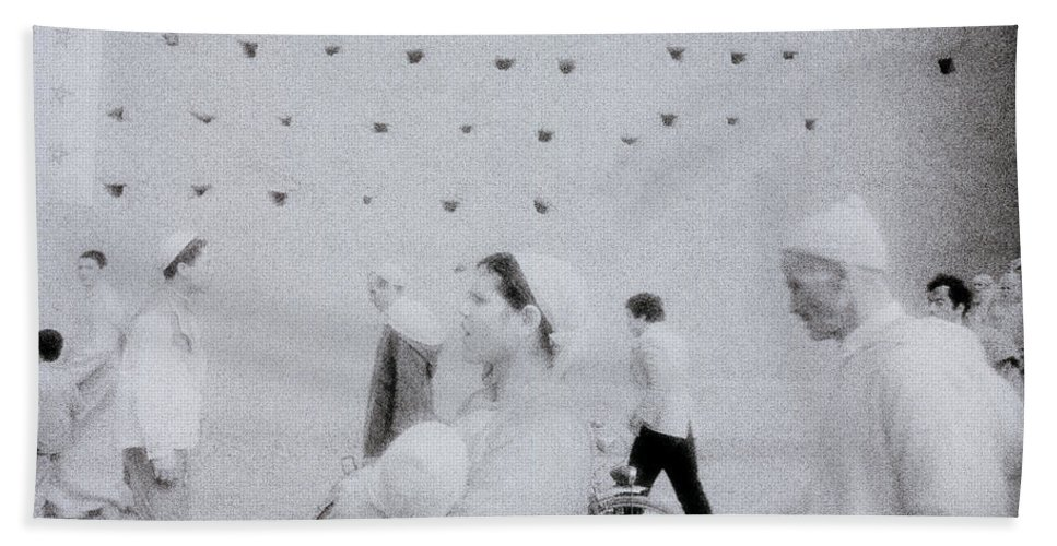 Surreal Hand Towel featuring the photograph People In A Dream by Shaun Higson