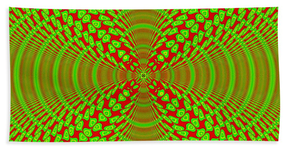 Digital Hand Towel featuring the digital art Phase1 by Yvonne Johnstone