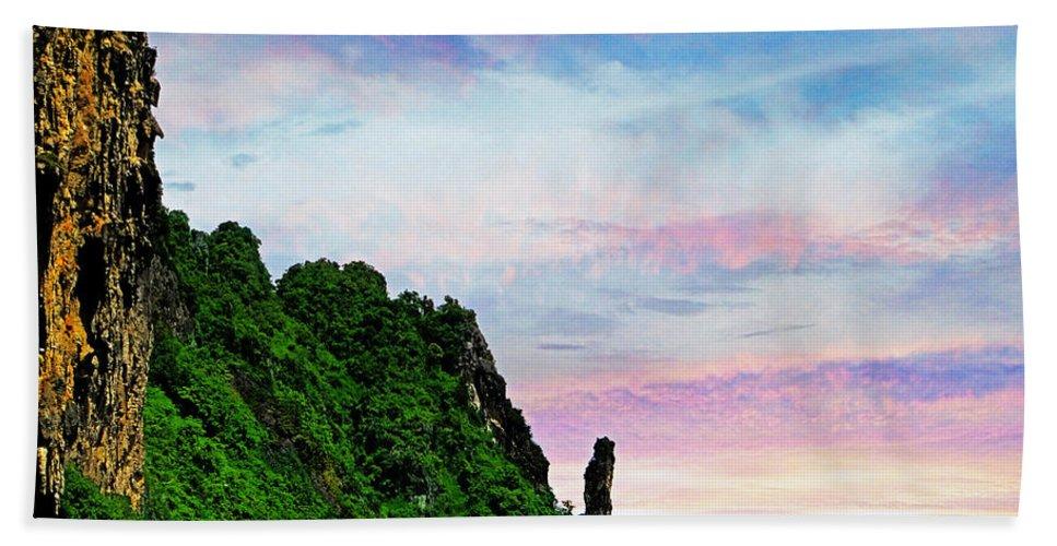 Phuket Hand Towel featuring the photograph Phuket 3 by Ben Yassa