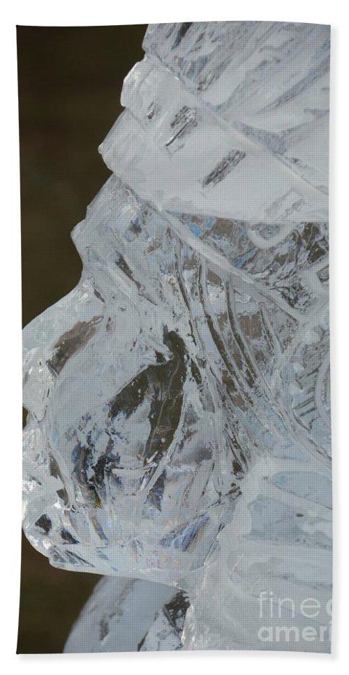 Michigan Bath Sheet featuring the photograph Plymouth Ice Festival by Randy J Heath