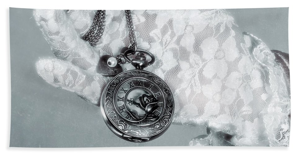 Hand Bath Sheet featuring the photograph Pocket Watch by Joana Kruse