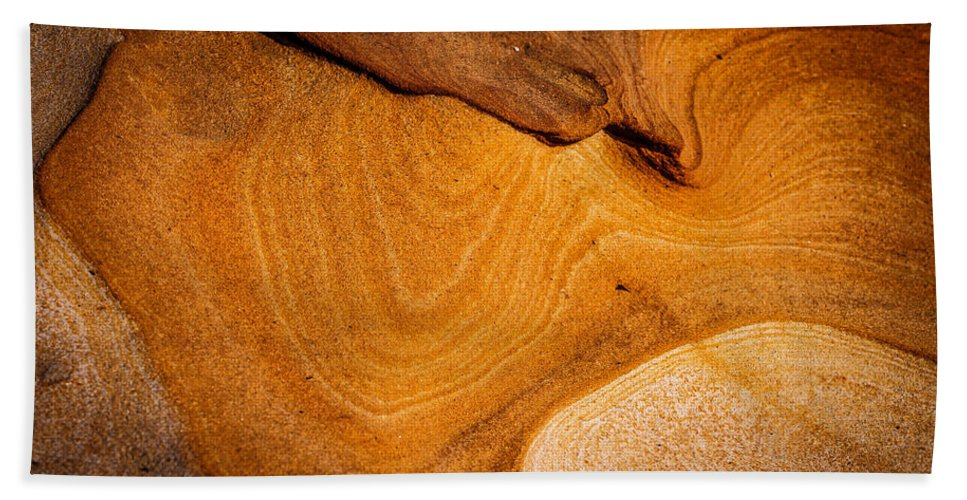 Copyrighted Hand Towel featuring the photograph Point Lobos Abstract 9 by Mike Penney