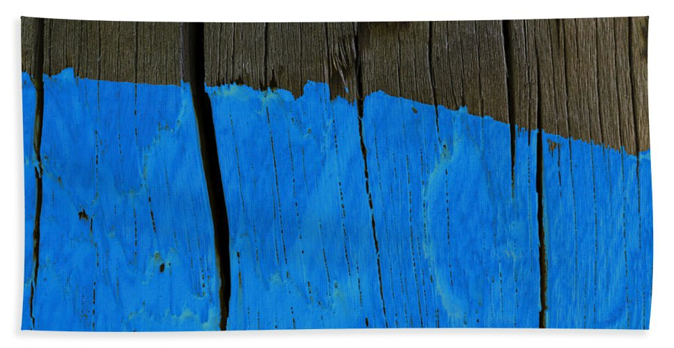 Telephone Pole Bath Sheet featuring the photograph Pole Art 37 by David Stone