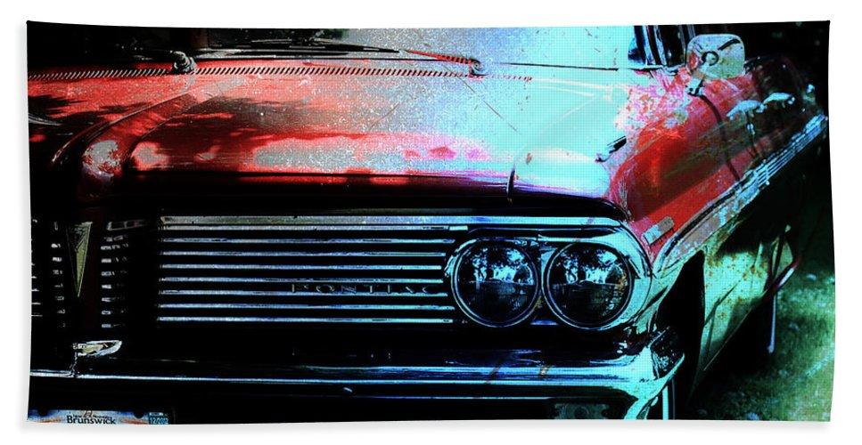 Pontiac Bath Sheet featuring the photograph Pontiac Shade N Sun by The Artist Project