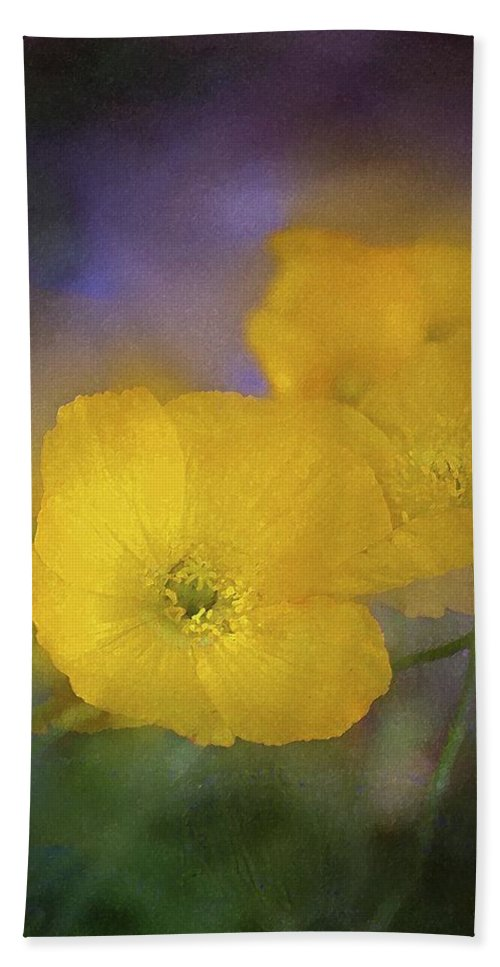 Floral Bath Sheet featuring the photograph Poppy 31 by Pamela Cooper