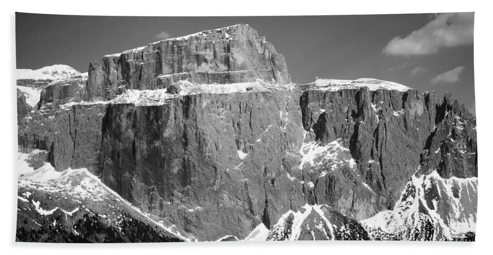 Europe Hand Towel featuring the photograph Pordoi Joch - Italy by Juergen Weiss