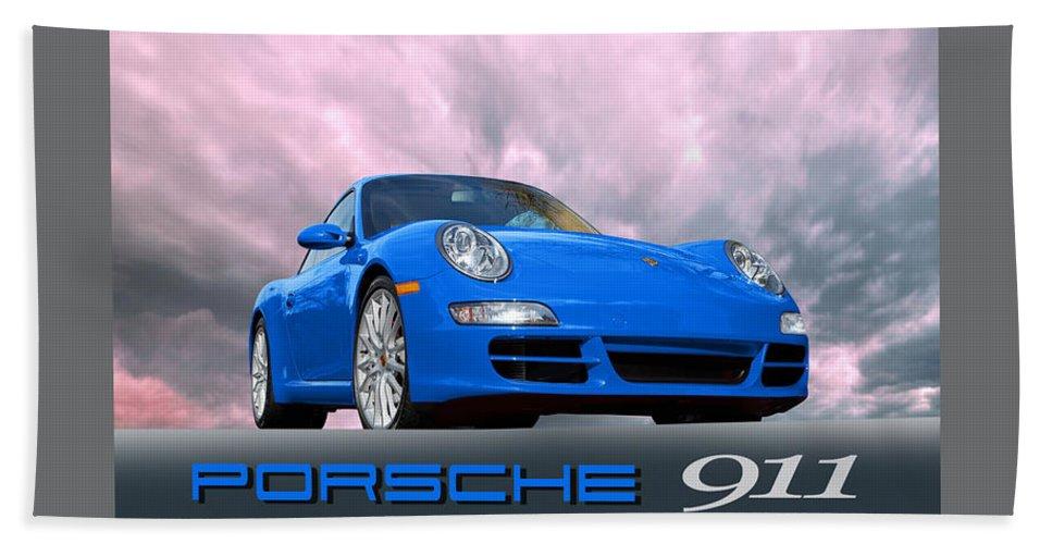 Porsche 911 Hand Towel featuring the photograph Porsche 911 No 1 by Joseph LaPlaca