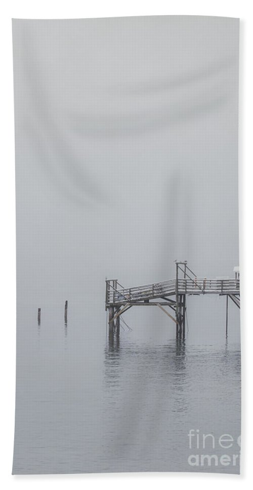 Bar Harbor Bath Towel featuring the photograph Port Of Mystery by Evelina Kremsdorf
