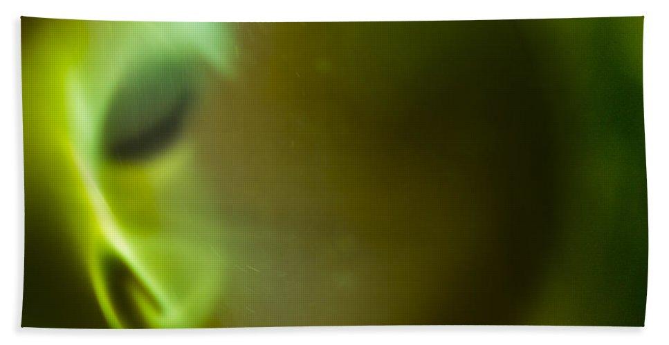Ignition Bath Sheet featuring the photograph Portal by Steven Poulton