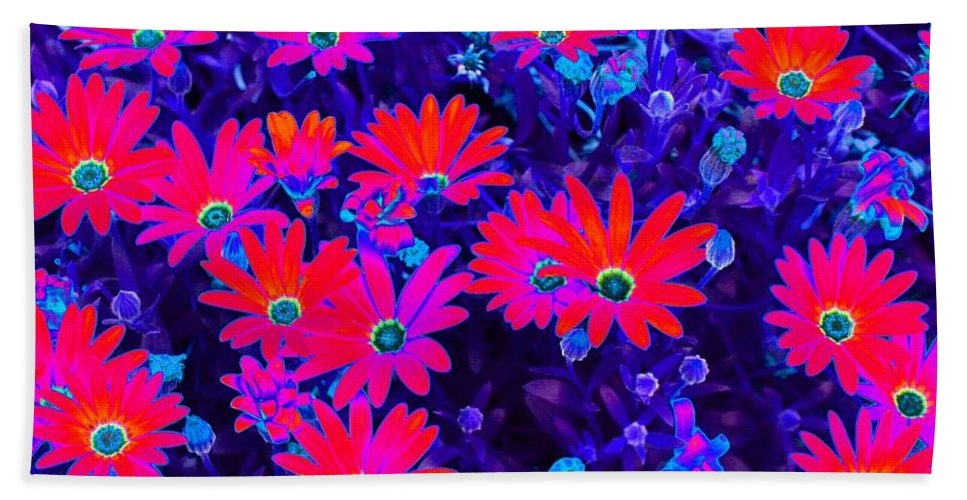Flower Hand Towel featuring the photograph Powerful Posies - Photopower 1798 by Pamela Critchlow