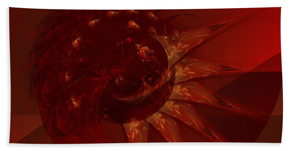 Dirt Hand Towel featuring the digital art Precious Earth by Diane Parnell