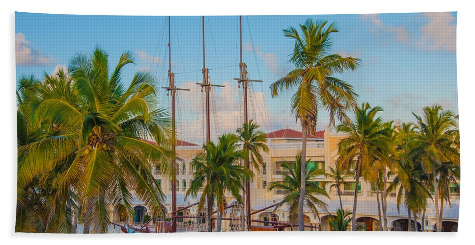 Punta Cana Hand Towel featuring the photograph Punta Cana Resort by Amel Dizdarevic