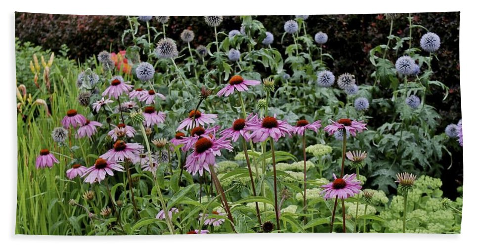 Flowers Bath Sheet featuring the photograph Qcpg 13-019 by Mario MJ Perron