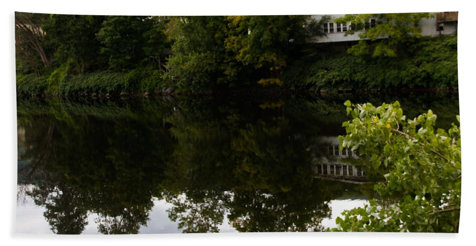 Lake Bath Sheet featuring the photograph Quiet Lake In The Berkshires by Kathleen Odenthal