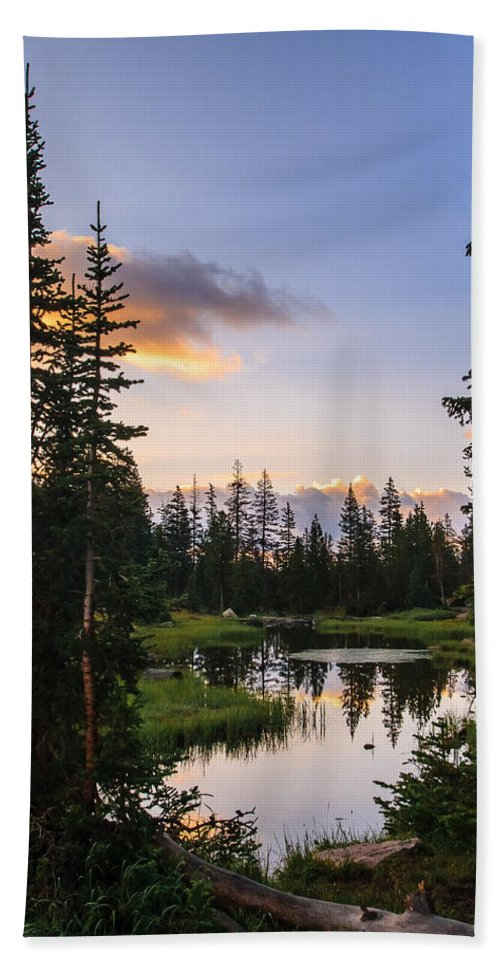 Gigimarie Hand Towel featuring the photograph Quiet Morning by Gina Herbert