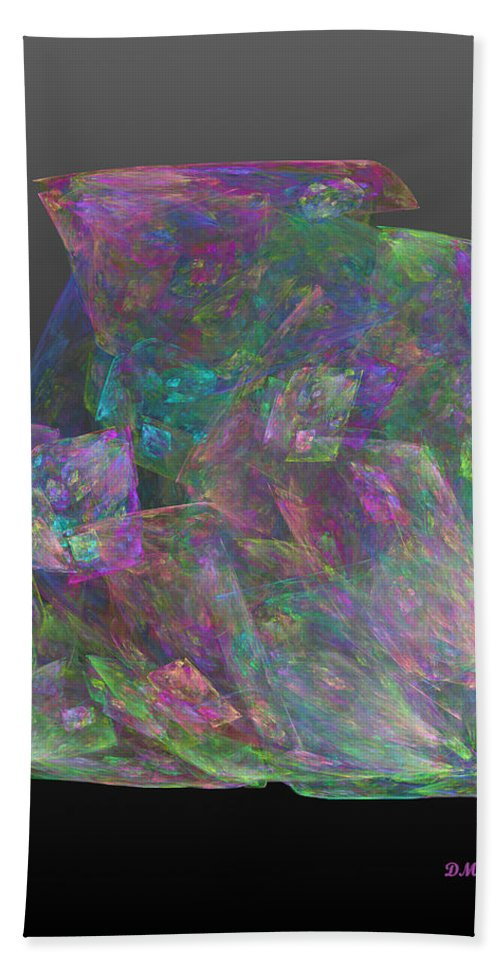 Gem Hand Towel featuring the digital art Raw Opal by Diane Parnell