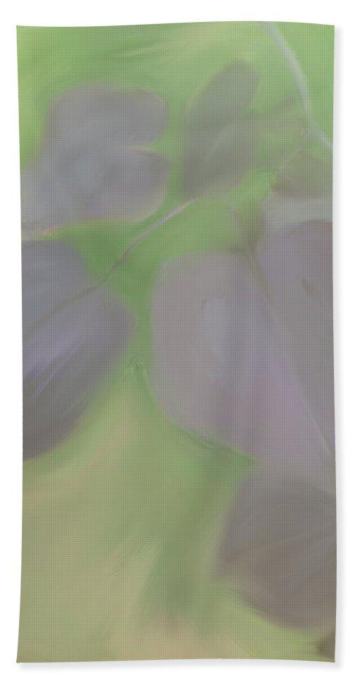 Redbud Hand Towel featuring the digital art Redbud Spring by Heidi Smith