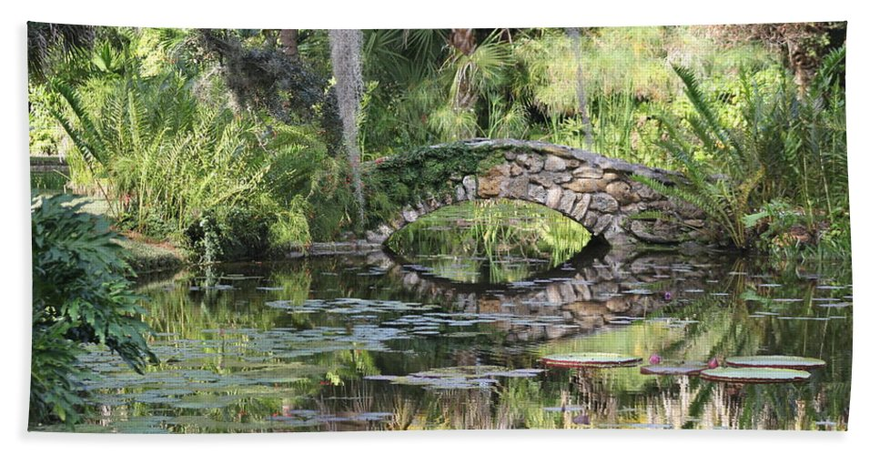 Landscape Bath Sheet featuring the photograph Reflections by Michael Mietlicki