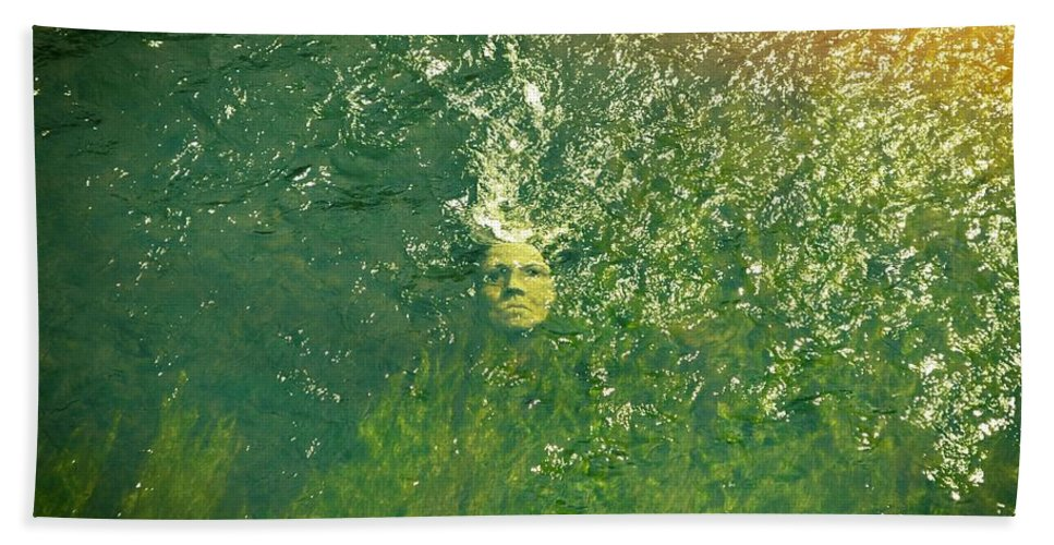 Water Bath Sheet featuring the photograph Reflections Of Time by Michelle Calkins