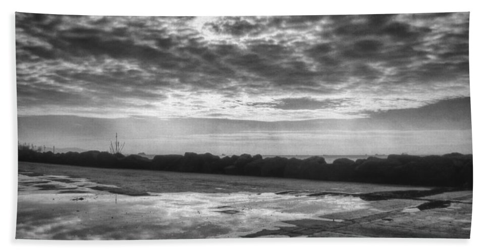 Clouds Bath Sheet featuring the photograph Reflections by Zapista