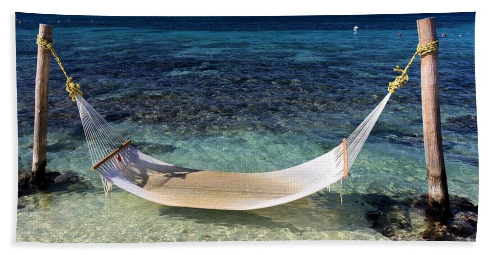 Beach Hammock Bath Sheet featuring the photograph Relaxation by Adam Jewell