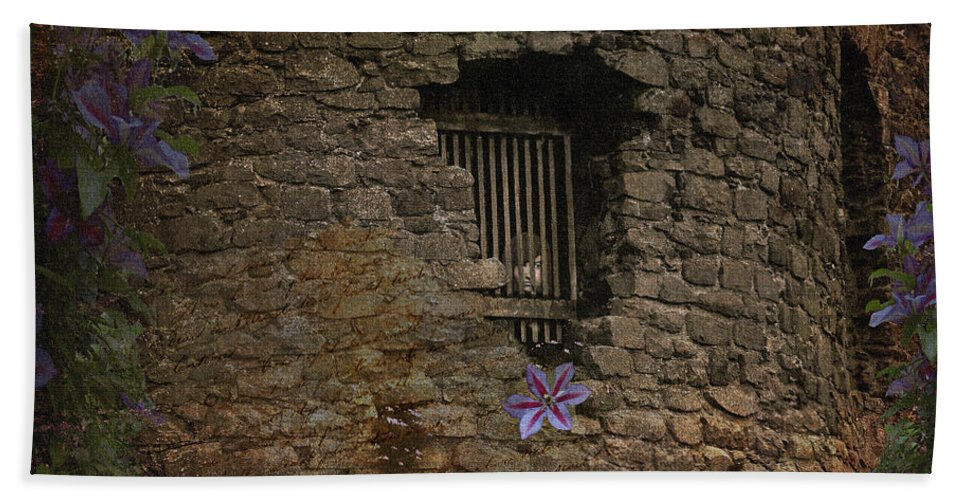 Fine Art Print Hand Towel featuring the photograph Rescue Me by Patricia Griffin Brett