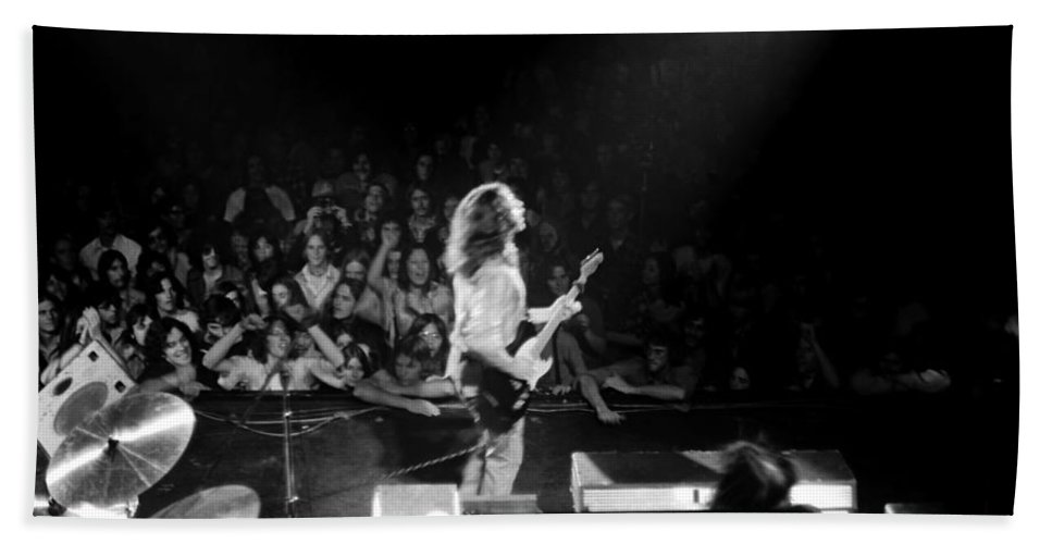 Rory Gallagher Hand Towel featuring the photograph Rg #8 by Ben Upham