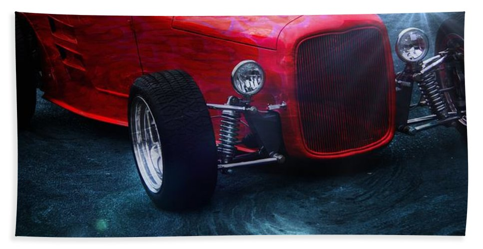 Classic Car Hand Towel featuring the photograph Road Rod by Aaron Berg