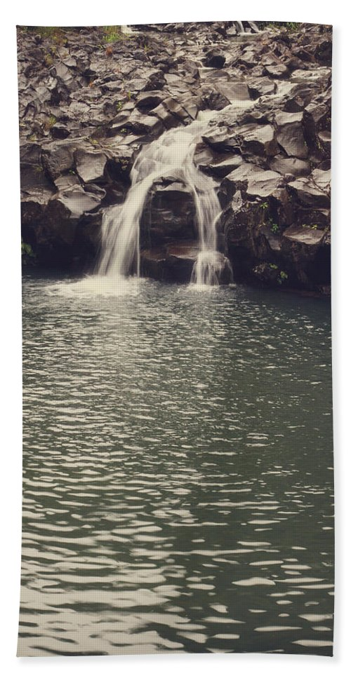 Road To Hana Bath Sheet featuring the photograph Road To Hana 7 by Jessica Velasco
