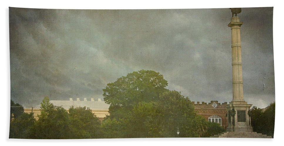 Charleston Hand Towel featuring the photograph Rolling Over Charleston by E Karl Braun