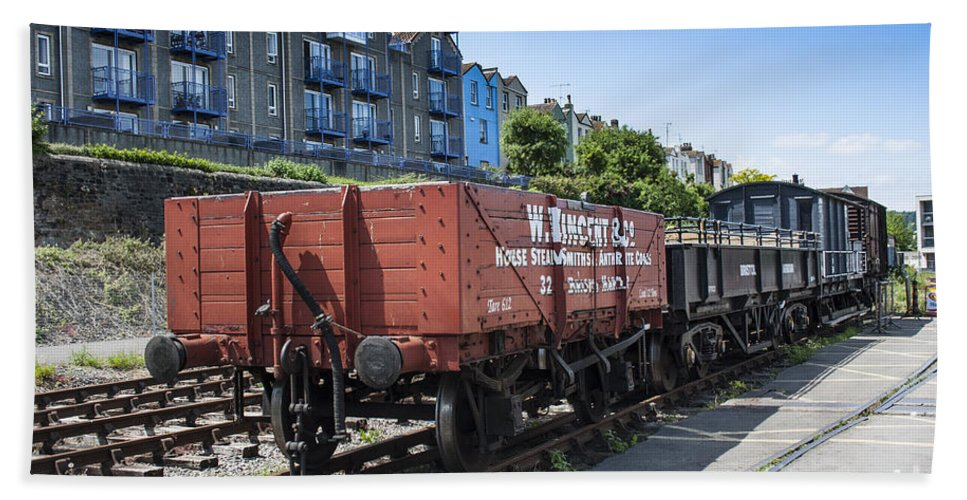 Transport Hand Towel featuring the photograph Rolling Stock by Brian Roscorla