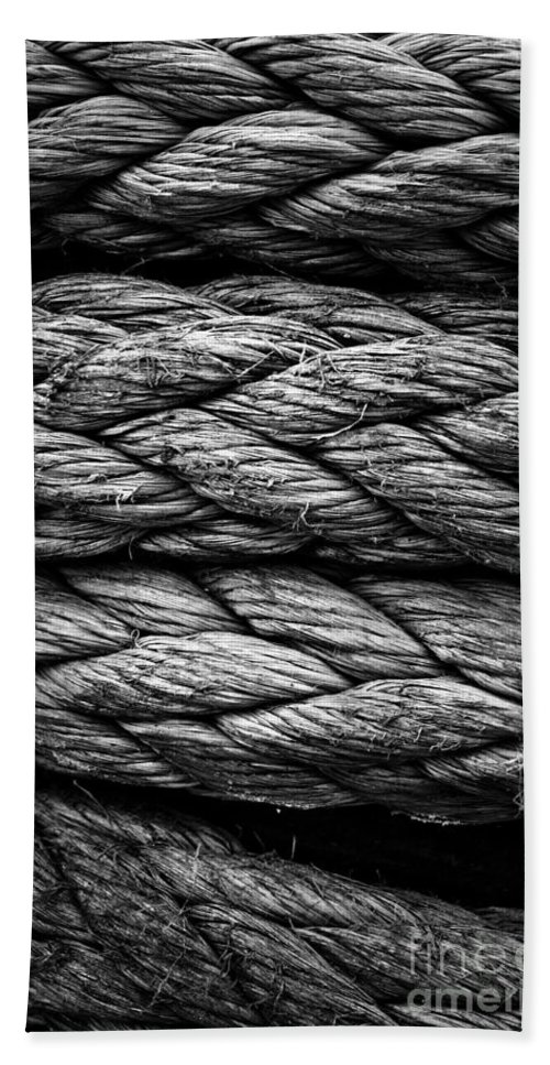 Rope Bath Sheet featuring the photograph Rope by Brothers Beerens