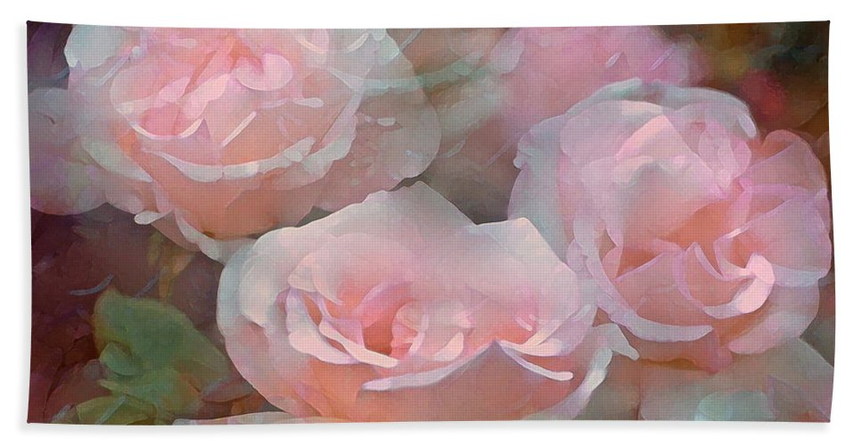 Floral Hand Towel featuring the photograph Rose 243 by Pamela Cooper