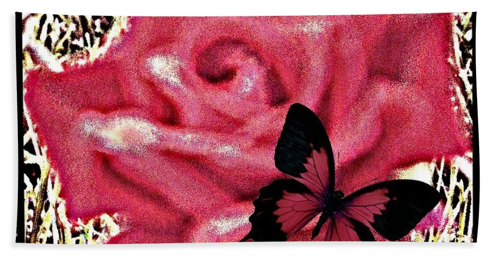Rose Hand Towel featuring the photograph Rose By Any Other Name by Bobbee Rickard