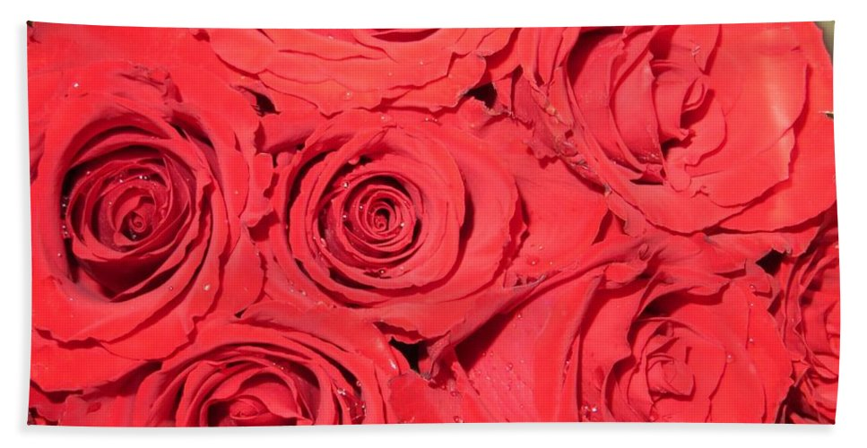 Roses For You Bath Sheet featuring the photograph Rose Swirls by Sonali Gangane