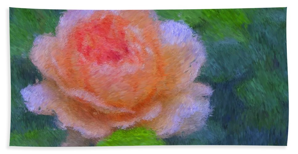 Rose Bath Sheet featuring the photograph Roses Splendor by Alice Gipson