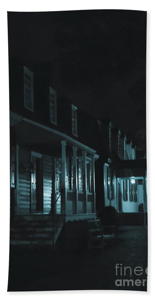 Homes Hand Towel featuring the photograph Row Homes by Margie Hurwich