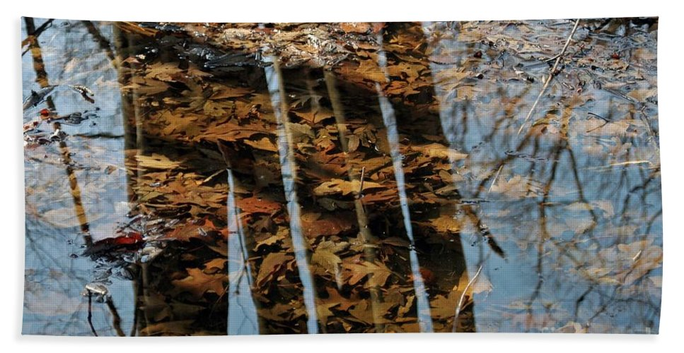 Fall Hand Towel featuring the photograph Rows by Joseph Yarbrough