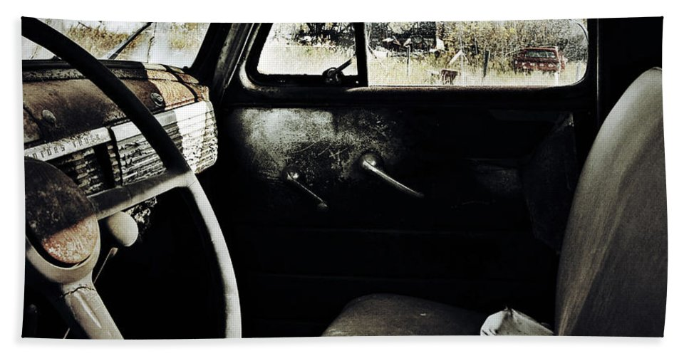 Old Car Hand Towel featuring the photograph Runaway Inflictions by The Artist Project