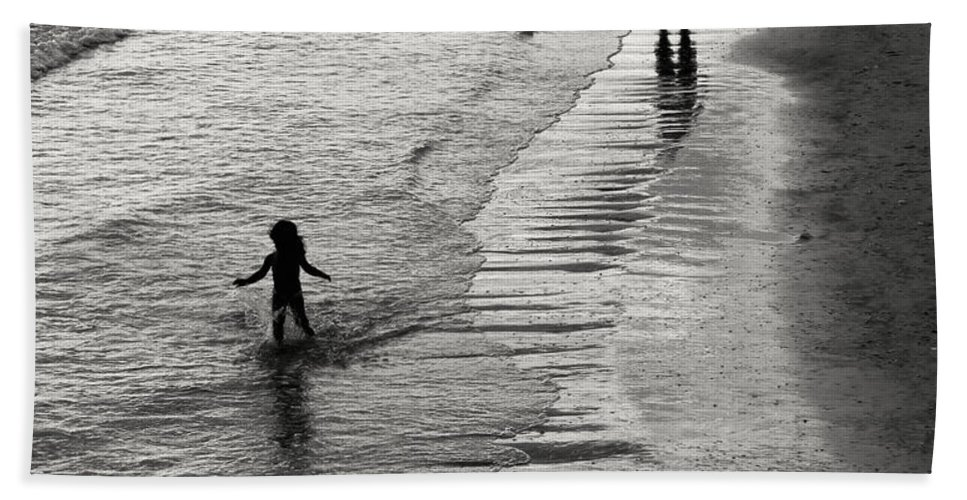 Freedom Hand Towel featuring the photograph Running Wild Running Free by Edward Fielding