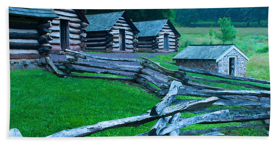 Rustic Hand Towel featuring the photograph Rustic Life by Michael Porchik