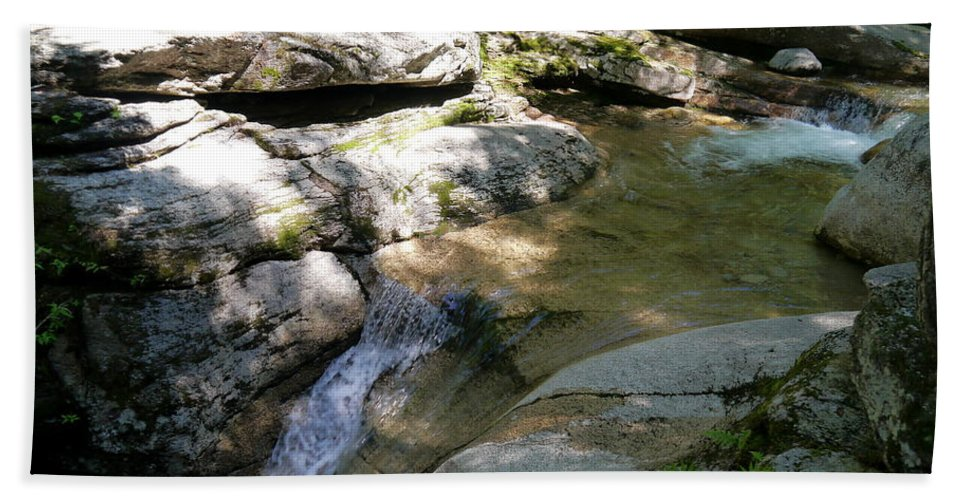 Fall Bath Sheet featuring the photograph Sabbaday Brook by Christiane Schulze Art And Photography