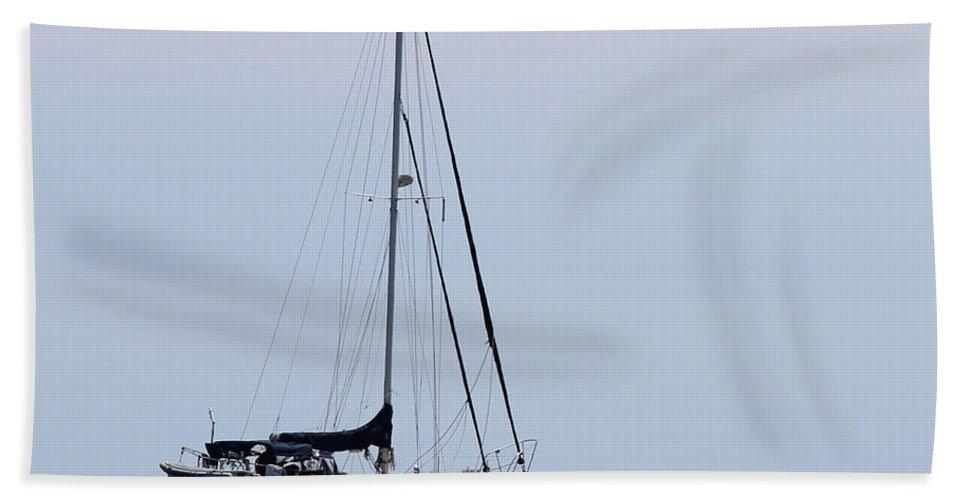Sail Boat Bath Sheet featuring the photograph Sail Away by Tiffany Erdman