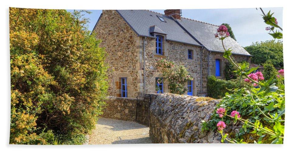 Saint-suliac Hand Towel featuring the photograph Saint-suliac - Brittany by Joana Kruse